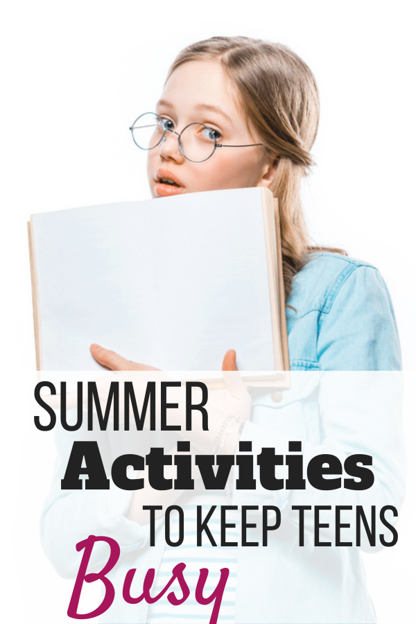 Summer vacation can be tough to keep any kid occupied. Find tips for summer activities to keep teens busy throughout the vacation break.