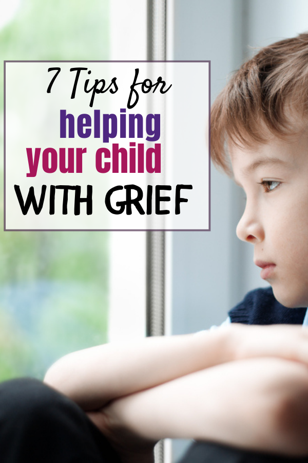 Grief can be one of the hardest emotions to conquer, and that is especially true for children. They don't have the years of experience behind them that have helped them learn how to cope. Should there be a child in your life who is going through grief, try some of these tips to help them with it.
